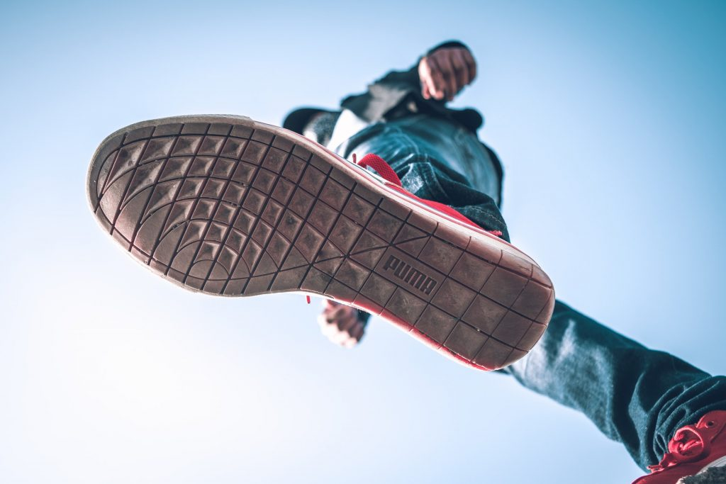 What is the bottom of the shoe called